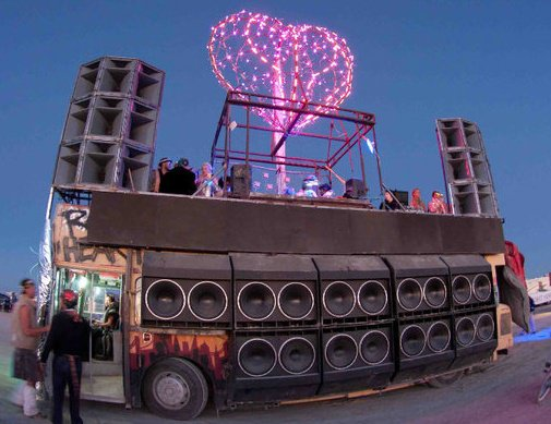 Burning Man Sound Camps 2014 // DeeplyMoved