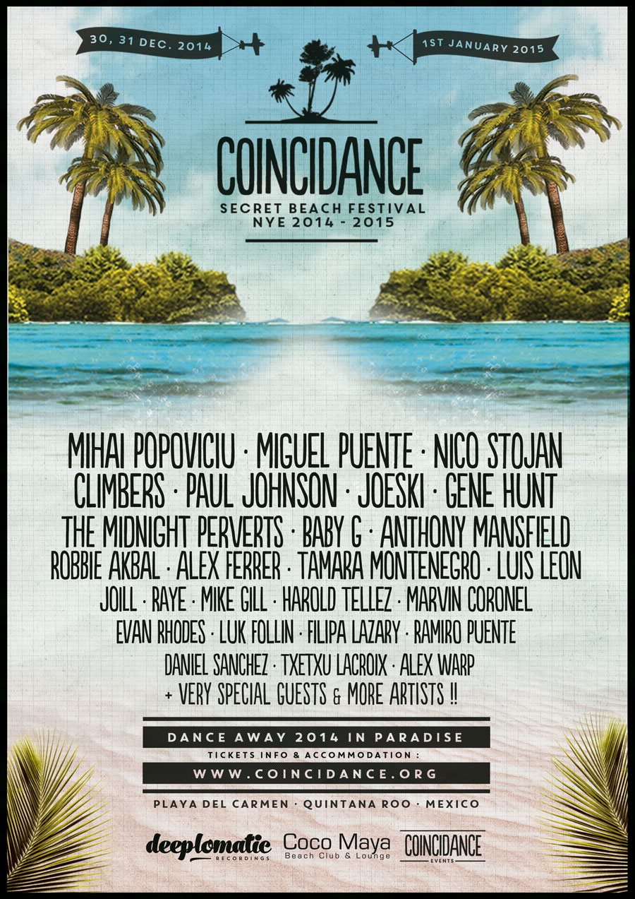 Coincidence Beach Festival New Years Eve NYE Tulum 2014-2015 // DeeplyMoved