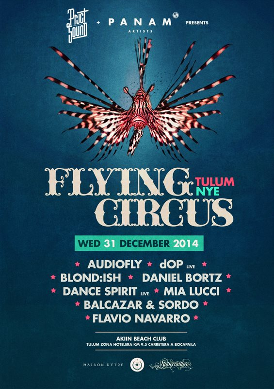 BPM Festival Tulum Party Guide - Flying Circus New Years Eve // DeeplyMoved