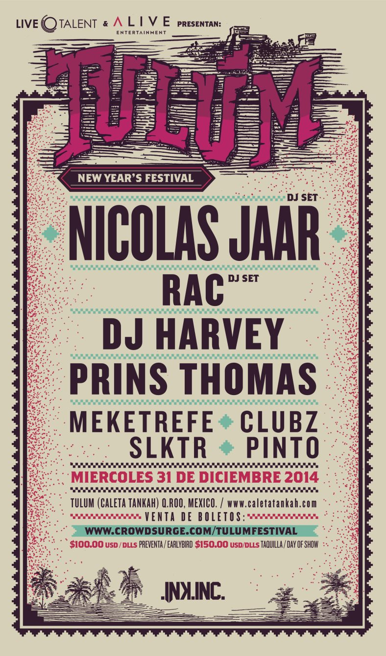 Tulum New Year's Festival 2014-2015 on DeeplyMoved