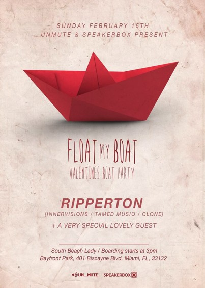 Float My Boat with Ripperton at South Beach Lady Bayfront Miami // DeeplyMoved