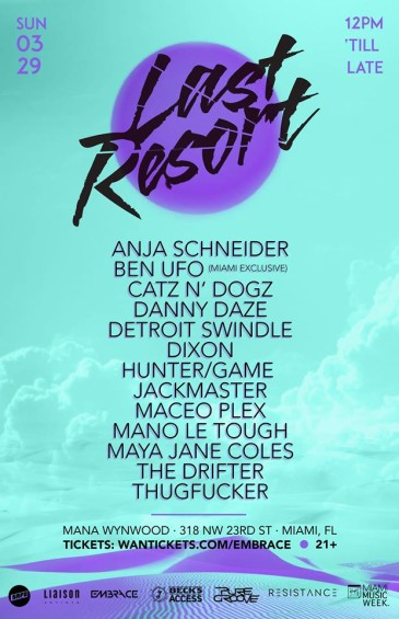Best Parties of WMC 2015 - Last Resort // DeeplyMoved
