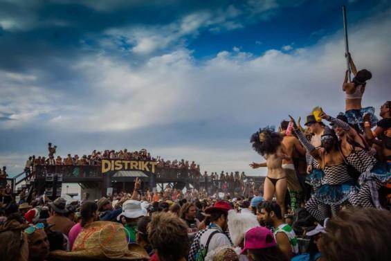 Distrikt at Burning Man DeeplyMoved 2015