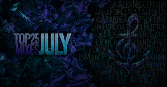 Top 25 Deep House and Techno Mixes of July on DeeplyMoved