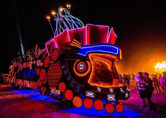 Mayan Warrior Burning Man 2015  DeeplyMoved