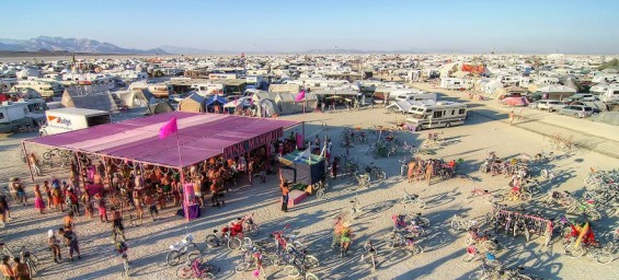 Pink Mammoth Burning Man 2015 - DeeplyMoved