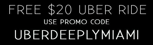 Art Basel Miami Free Uber Ride