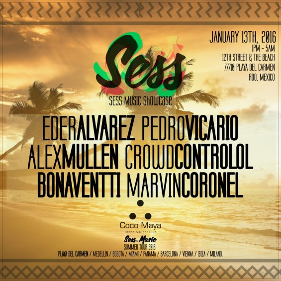 Sess Music Showcase at Coco Maya Beach Club & Lounge // DeeplyMoved