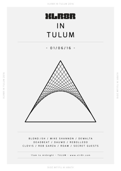 Xlr8r Festival 2016: Tulum at Villa Pescadores Tulum // DeeplyMoved