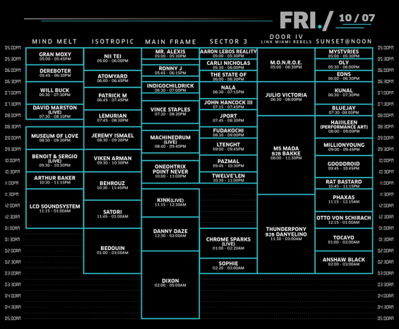 III Points Festival 2016 Friday Lineup // DeeplyMoved