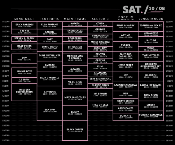 III Points Festival 2016 Saturday Lineup // DeeplyMoved